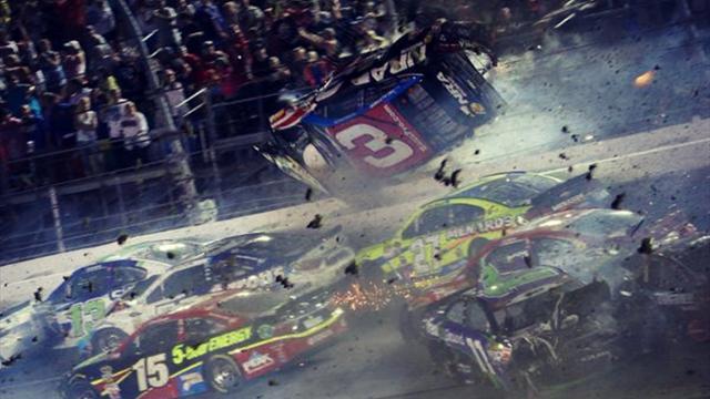 Terrible crash � Daytona dans une course de Nascar