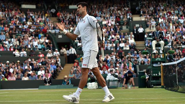 Accroché par Anderson, Djokovic devra terminer son huitième mardi