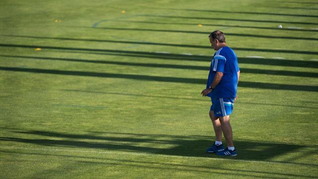 De retour à Marseille, Bielsa a dirigé l'entraînement des Olympiens