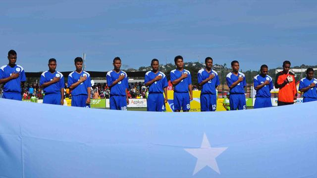 Микронезия проиграла три матча на Тихоокеанских играх со счетом 0:114