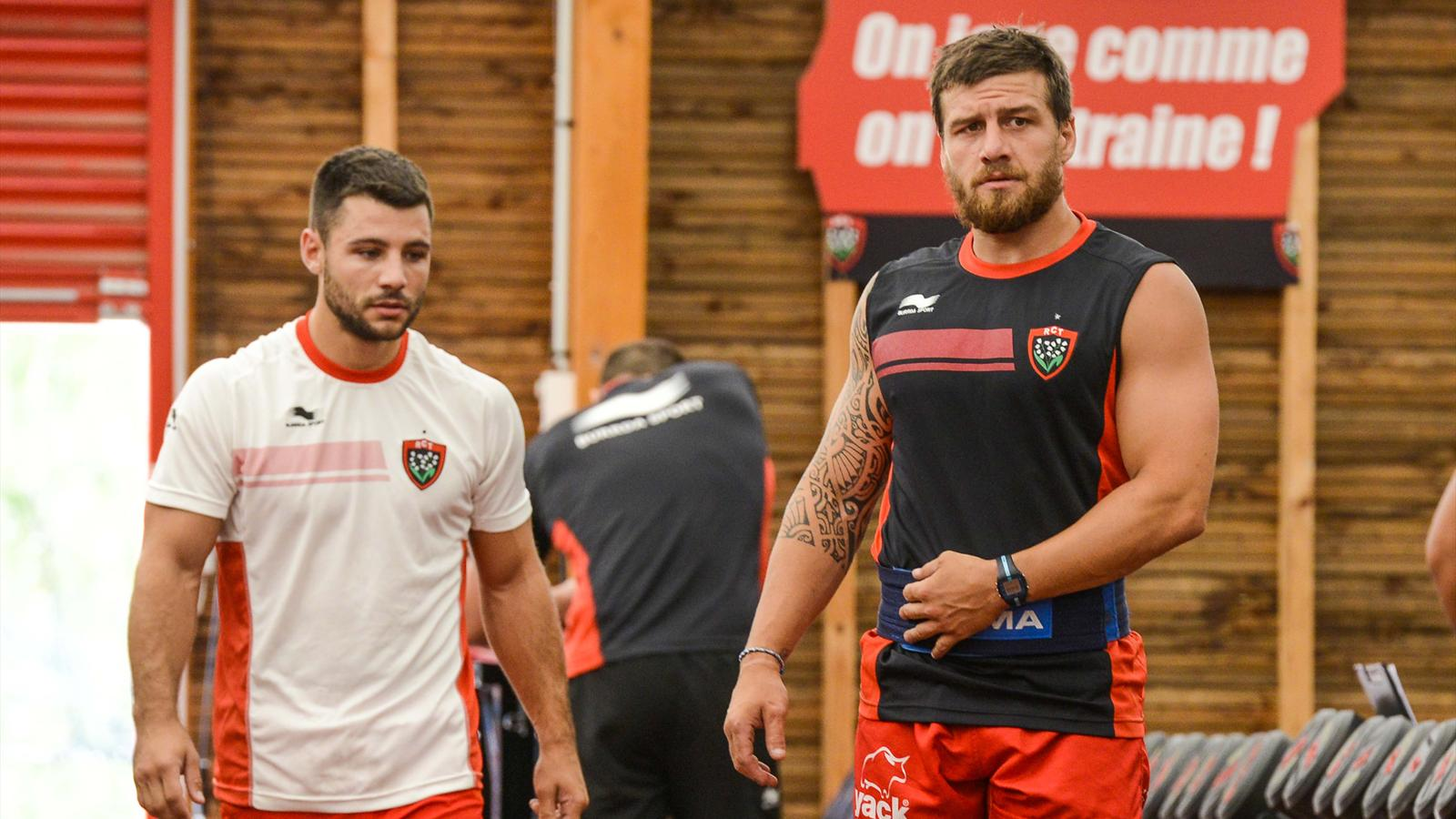 Jonathan Pelissié et Julien Caminati (Toulon) - 9 juillet 2015