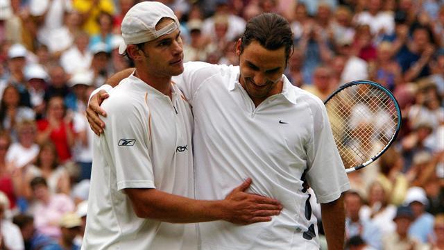 """Quiz - 100 victoires et 78 """"victimes"""" pour Federer à Wimbledon : Pouvez-vous toutes les nommer ?"""