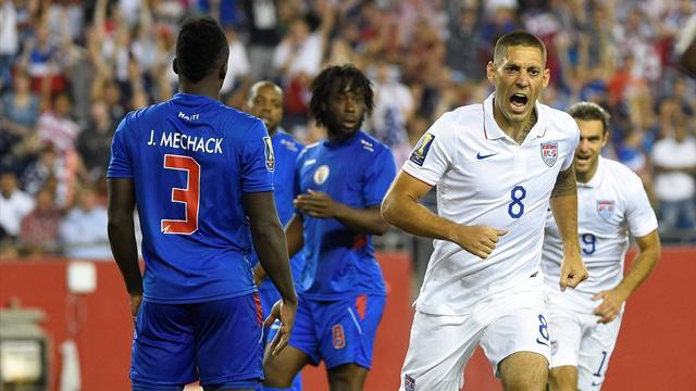 Klinsmann mit Titelverteidiger USA im Viertelfinale