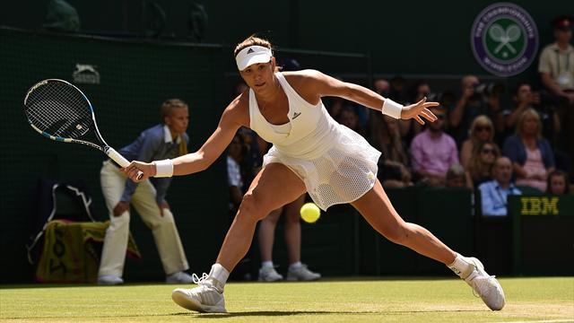 Garbiñe Muguruza debutará en Wimbledon ante Giorgi y evitaría a Serena hasta la final