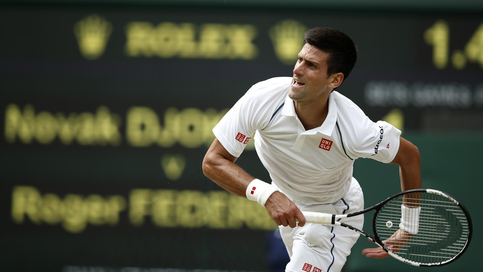 Novak Djokovic - Wimbledon 2015