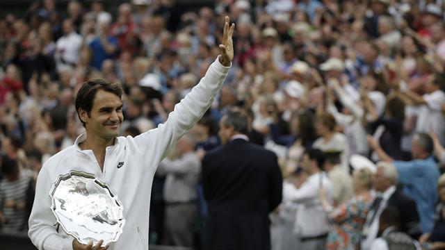 """""""C'est comme s'il avait le vent dans le dos"""" : Federer s'est senti impuissant"""