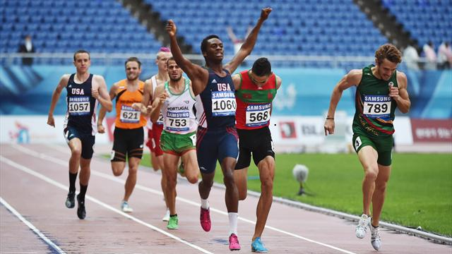 Day 10: Hosts Korea power ahead as Walker sprints to 800m gold