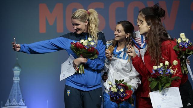 Italy's Fiamingo and Hungary's Imre win individual épée titles
