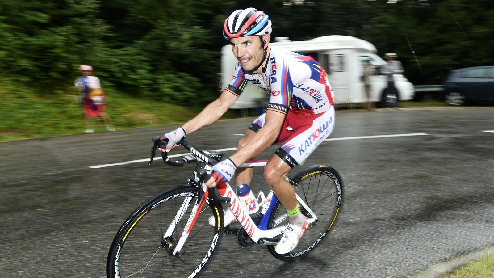 Joaquim Rodriguez (Katusha), lancé vers la victoire dans la 12e étape du Tour de France 2015