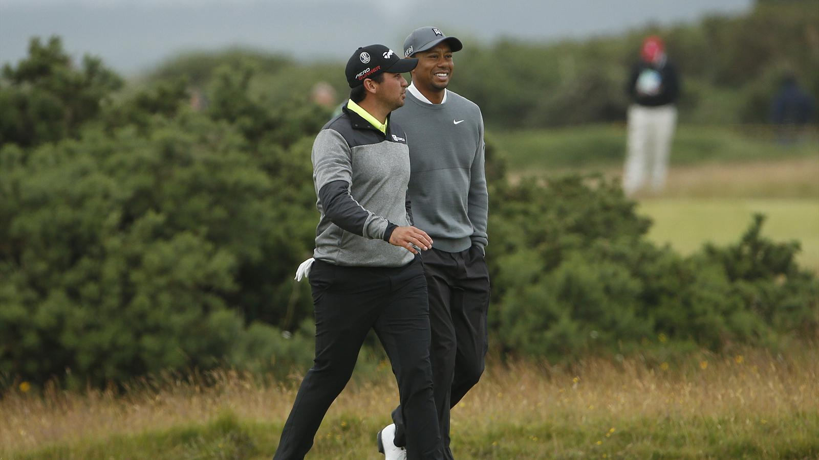 Jason Day backing fallen idol Tiger Woods to get back off canvas - The Open 2015 - Golf - Eurosport