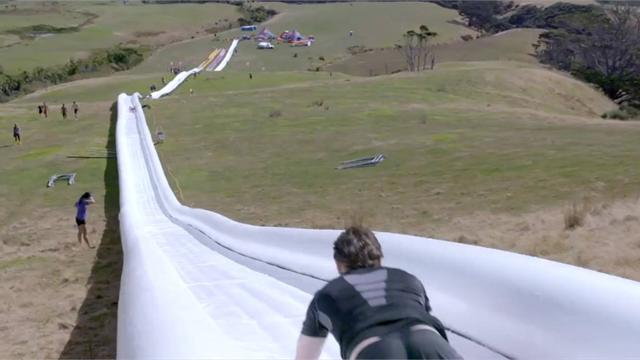 39 World S Longest Water 39 Slide Is As Good As It Sounds Xtreme Sports Eurosport Uk