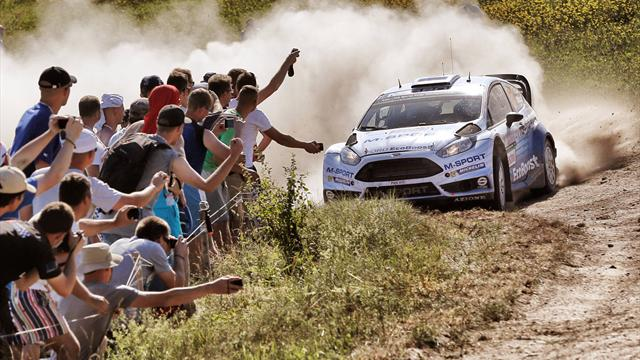 Akropolis Rallye 2016: Lukjanuk nach Tag eins in Führung
