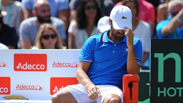 Tennis : Les 6 phrases de Clément qui montrent que le mal des Bleus est profond