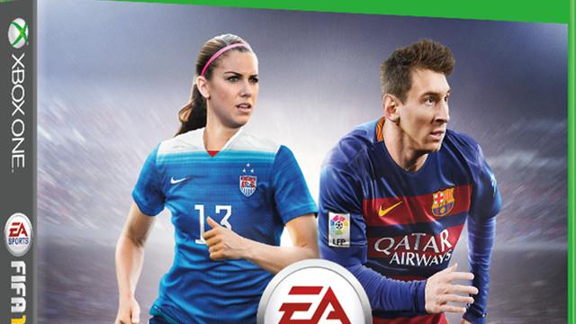 Alex Morgan sulla copertina di Fifa 16: è la prima donna
