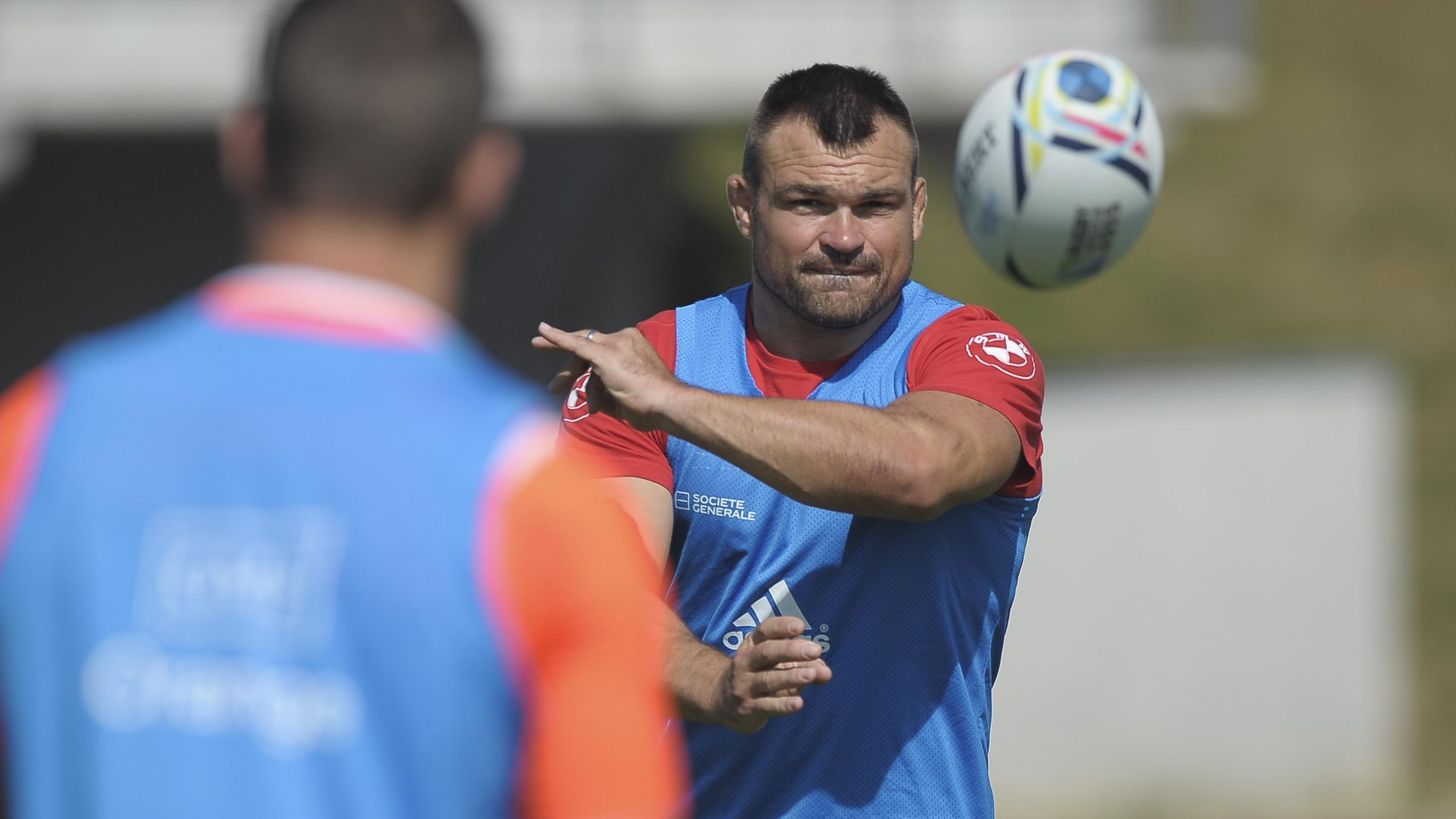 Nicolas Mas, le pilier du XV de France - juillet 2015