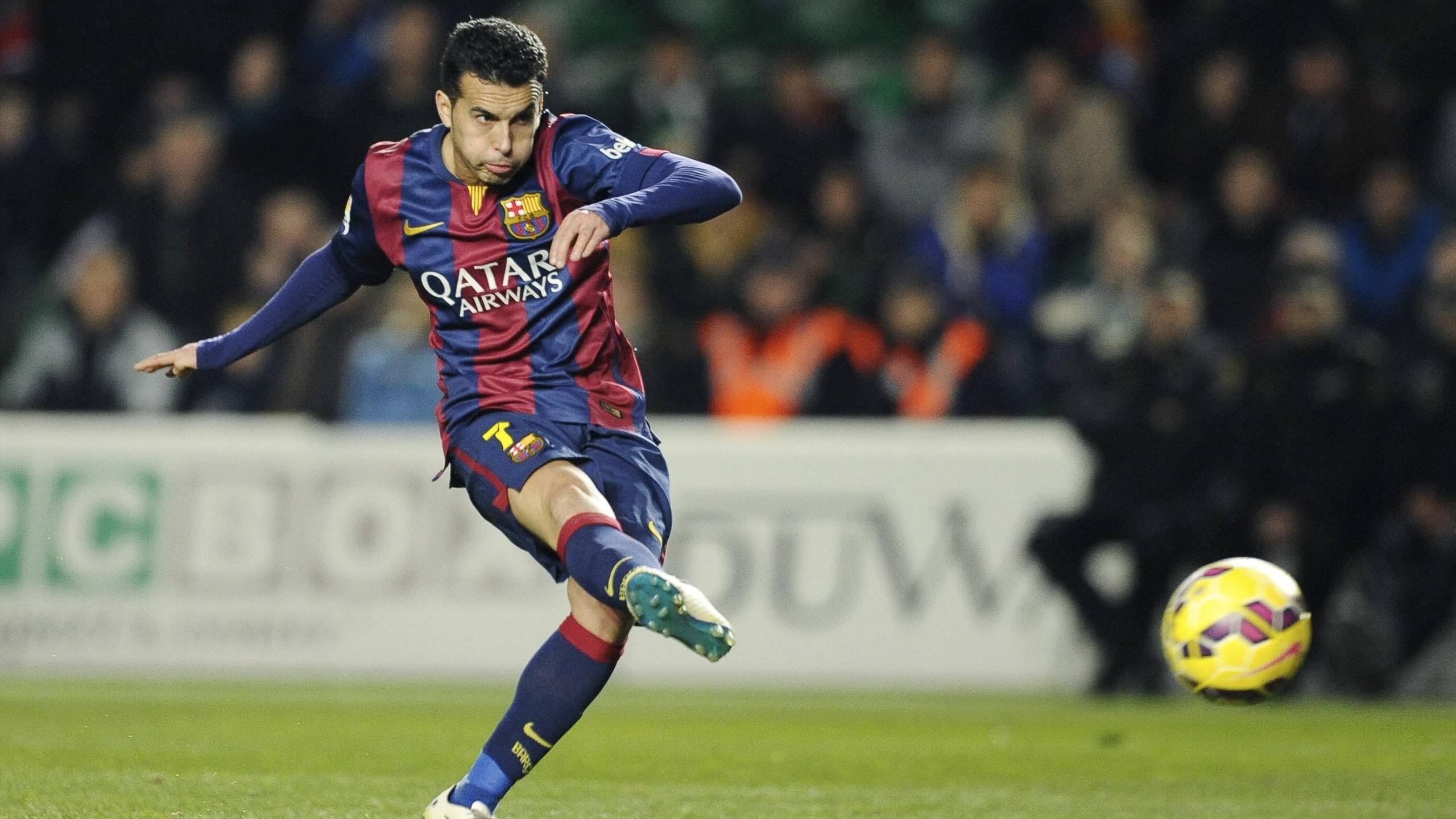Pedro Rodriguez sous le maillot du FC Barcelone.