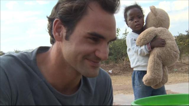 Federer ha speso 12 milioni di euro per costruire 81 scuole in Malawi