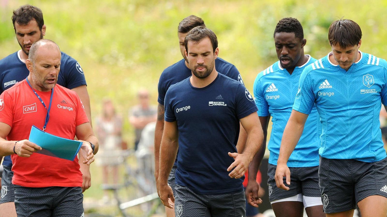 Coupe du monde xv de france les bleus en mode montagnards coupe du monde 2015 rugby - Groupe coupe du monde rugby 2015 ...