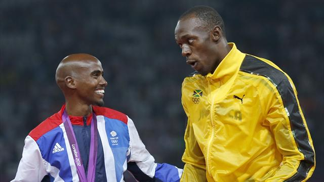 Leaked IAAF data 'says Mo Farah and Usain Bolt are clean'