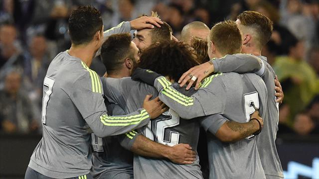 Le Real Madrid se promène face à City