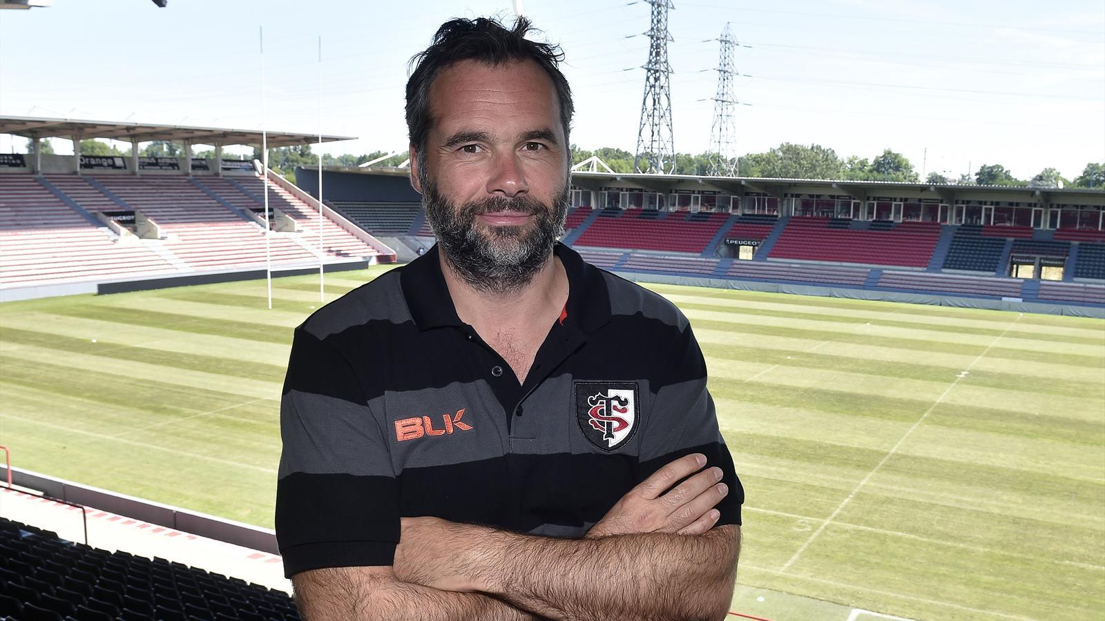 Ugo Mola, nouveau entraîneur en chef de Toulouse