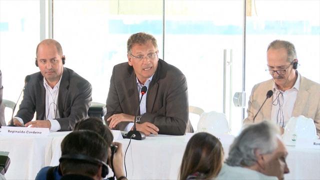 Valcke : «Je ne me sens pas responsable de la situation à la FIFA»