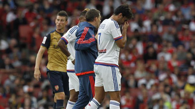 Une défaite 6-0 face à Arsenal, Grenier blessé : sale après-midi pour l'OL