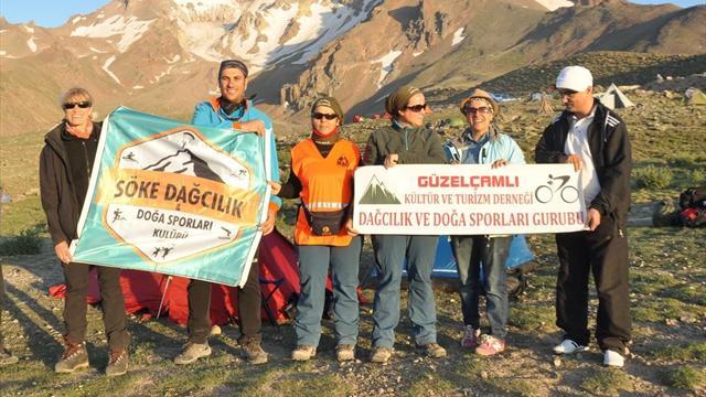 Erciyes'e zirve tırmanışı yapan kadın dağcı hayatını kaybetti