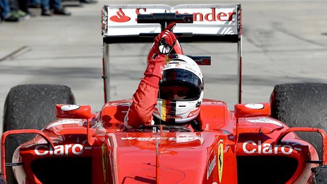"""""""Merci Jules, cette victoire est pour toi"""" : le poignant hommage de Vettel à Bianchi"""