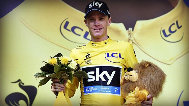 """Pour Froome, le suspecter de dopage est le """"compliment ultime"""""""