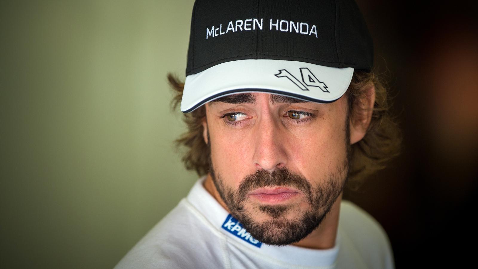 Fernando Alonso (McLaren) au Grand Prix de Hongrie 2015