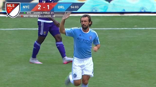 Une standing ovation et un bonjour à Kaka : les premiers pas de Pirlo en MLS