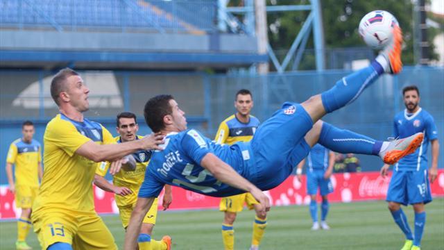 El gol imposible de un delantero bosnio