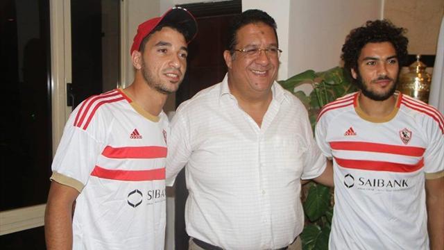 محمد سالم شريف علاء الزمالك
