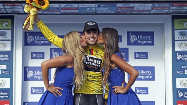 Gaetan Bille gana la contrarreloj de la Vuelta de Portugal