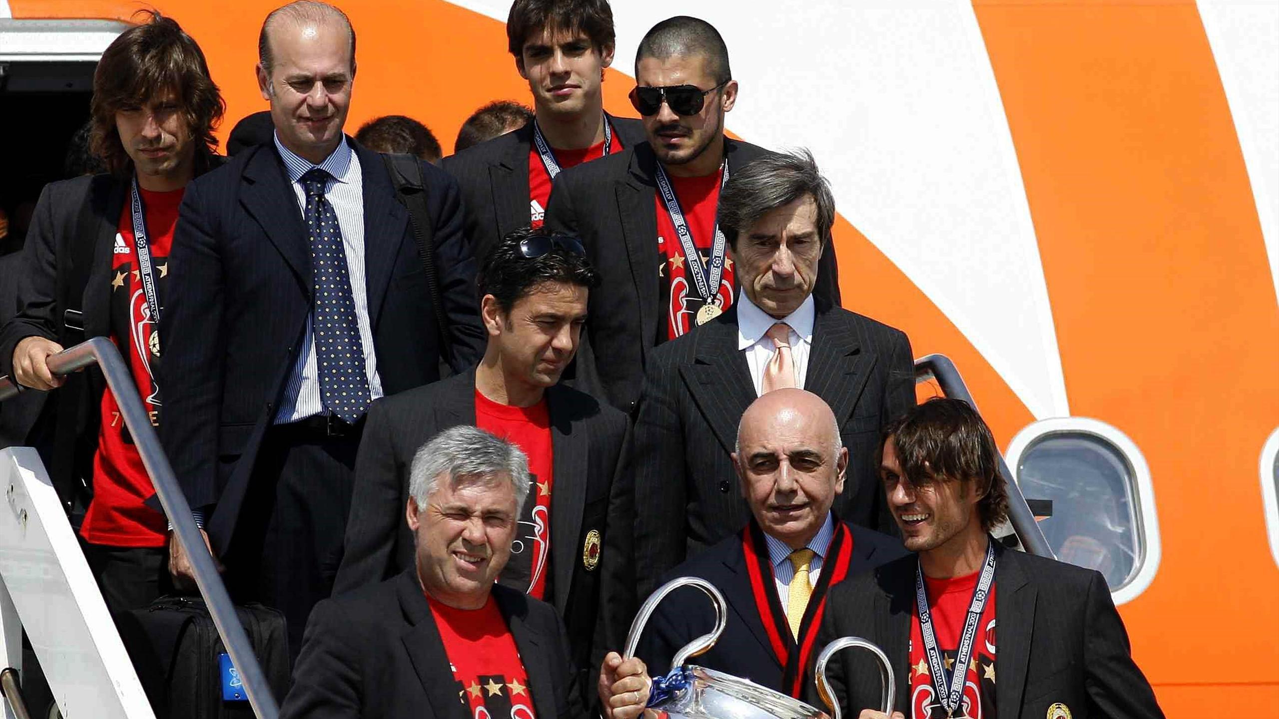 Адриано Галлиани, Андреа Пирло, «Милан», 2007