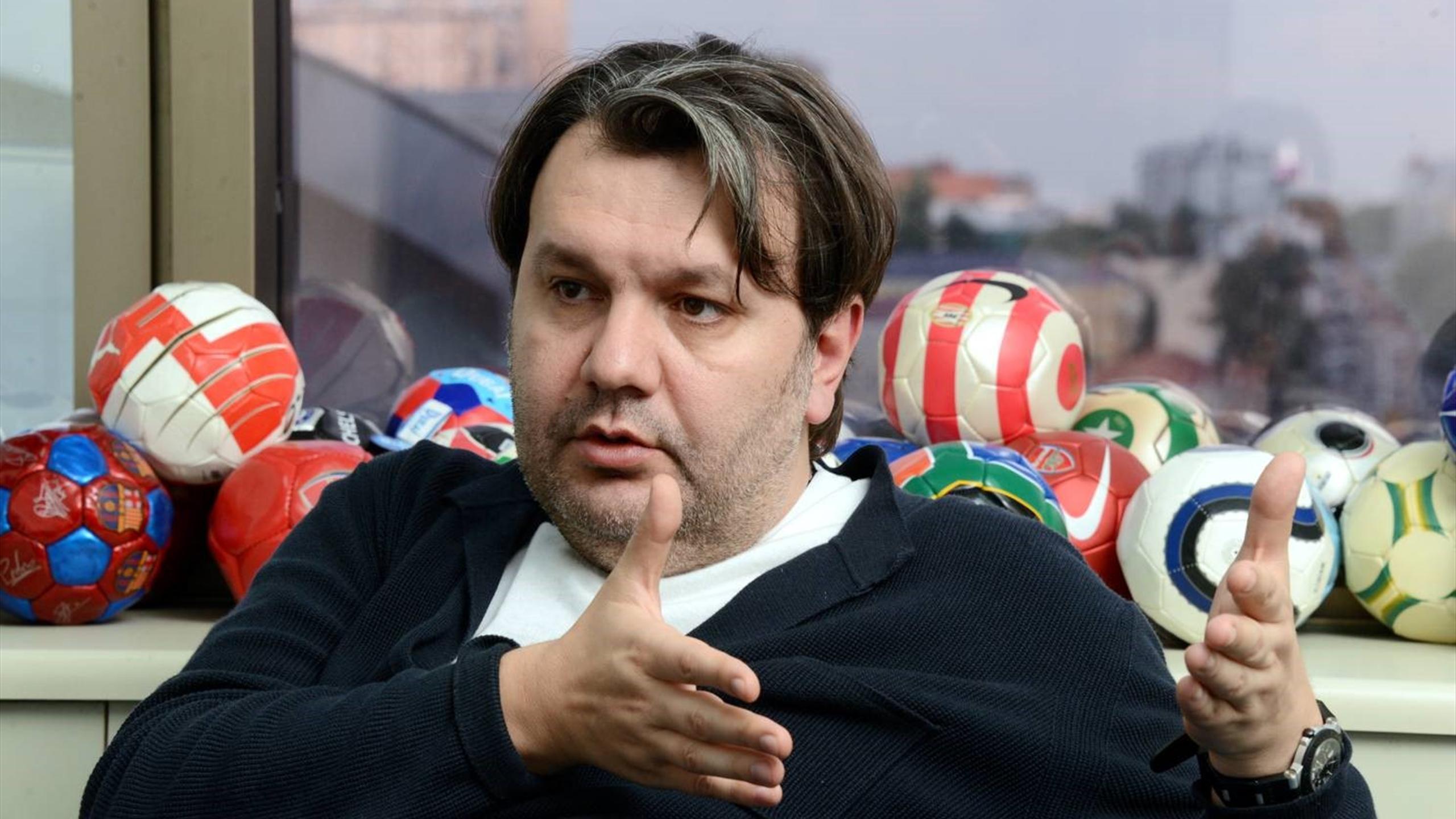 Футбольный агент Герман Ткаченко