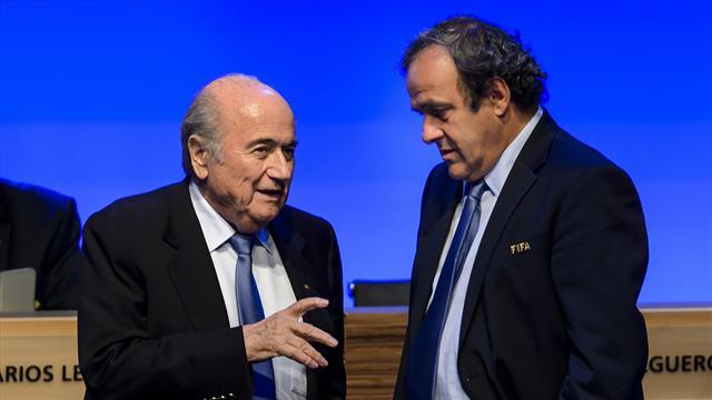 """Platini : Blatter """"disait souvent que je serais son dernier scalp"""""""