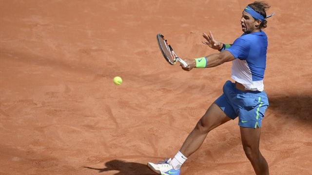 Nadal kendine geliyor