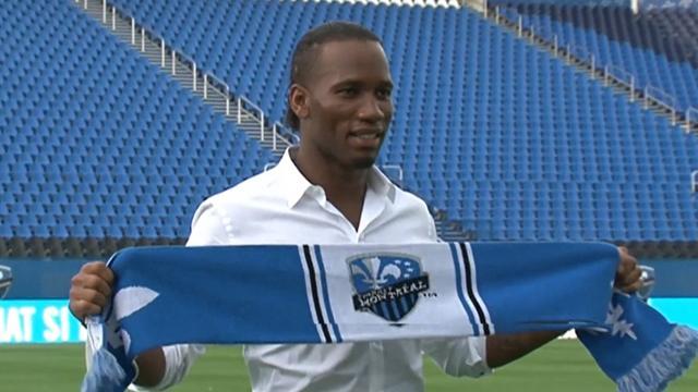 Drogba ne rejoint pas Montréal comme une «superstar», mais pour «apprendre»