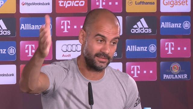 Guardiola : «Je ne serai jamais un problème pour le Bayern»