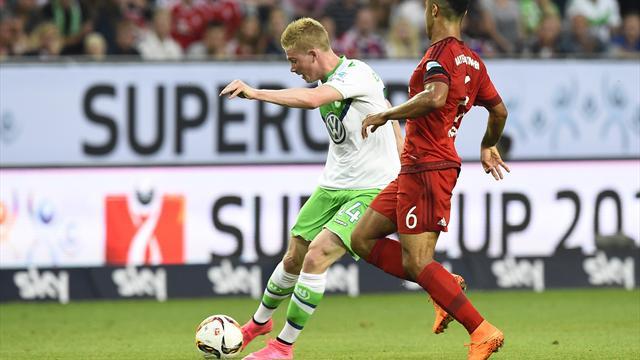 El Wolfsburgo gana la Supercopa y Guardiola pierde su primer título