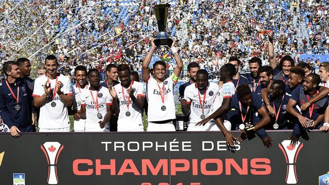 El PSG conquista la Supercopa francesa ante el Lyon