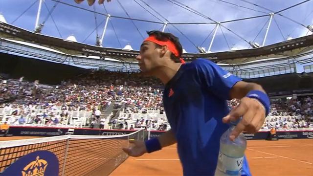 """""""Ne me casse pas les c..."""" : Fognini s'embrouille avec Nadal en plein match"""