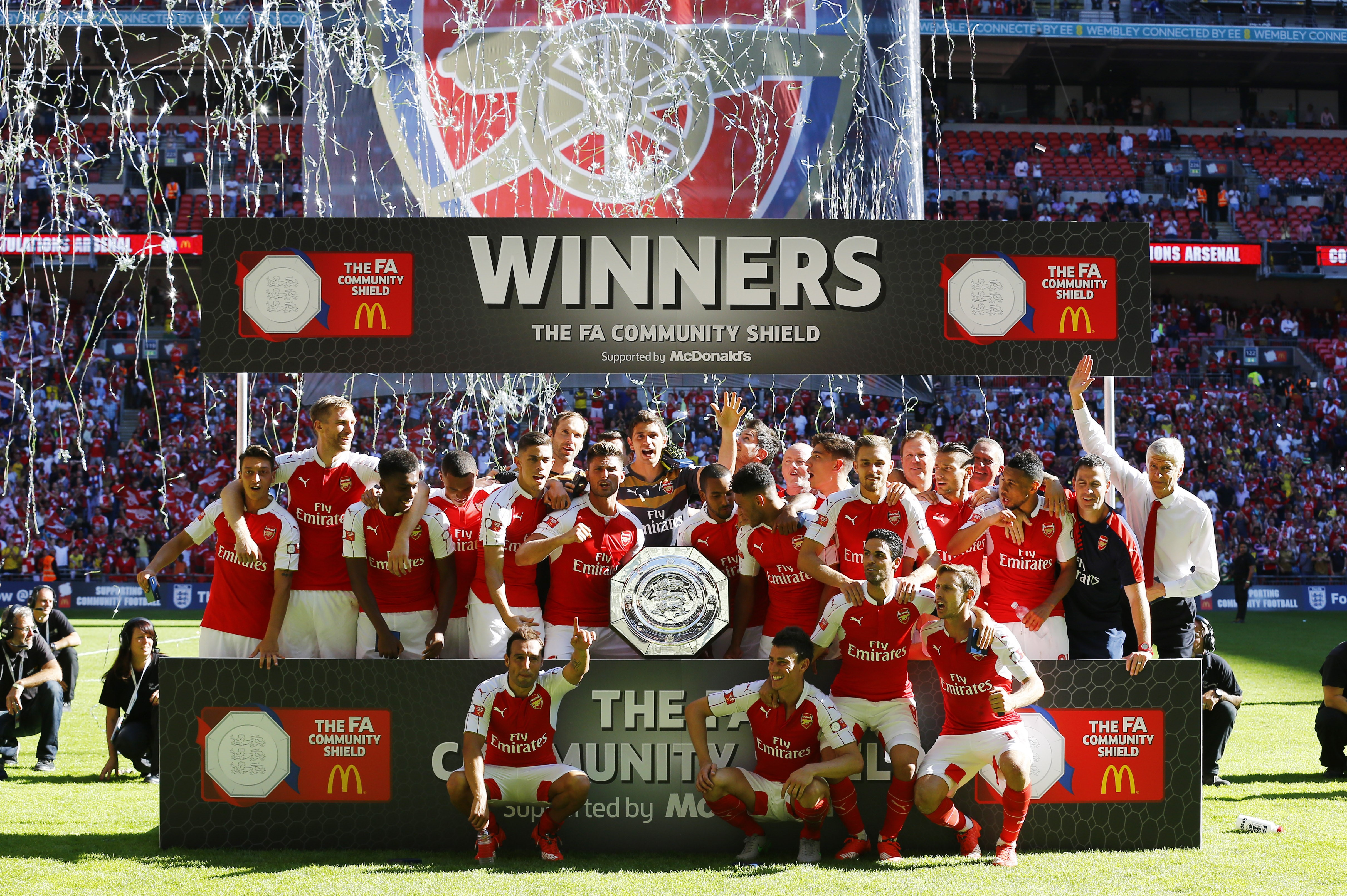 «Арсенал», победитель Суперкубка Англии