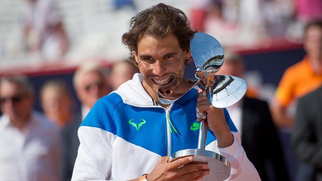 Nadal surmonte enfin l'obstacle Fognini pour s'offrir son troisième titre de la saison