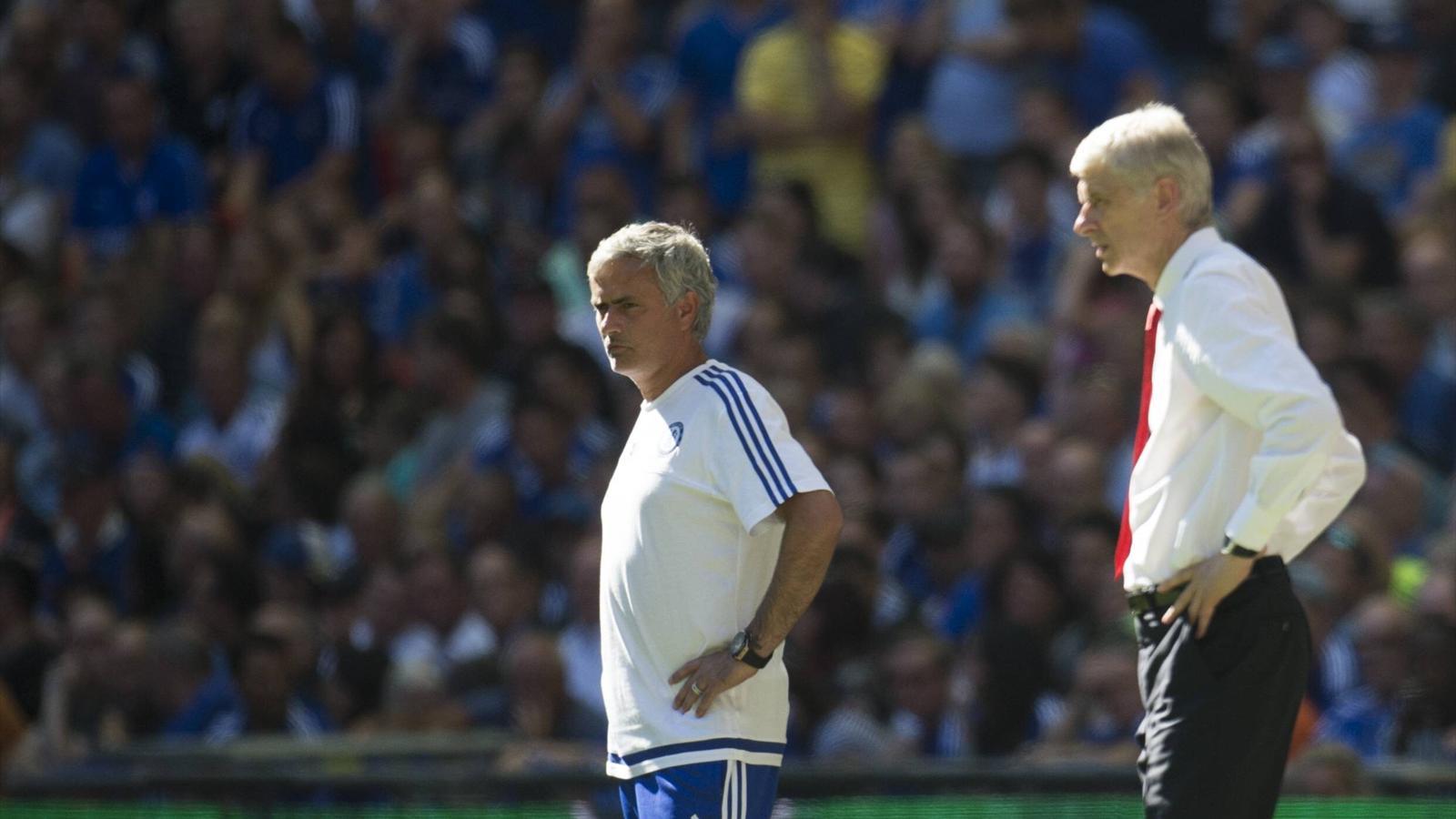 Pech für José Mourinho: Dieses Mal ging das Duell an Erzfeind Arsène Wenger