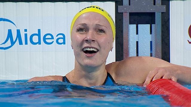Шведская пловчиха установила мировой рекорд на100-метровке баттерфляем