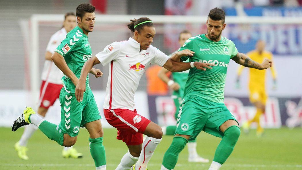 Rb Leipzig Rettet Remis Gegen Greuther Fürth 2 Bundesliga 2015