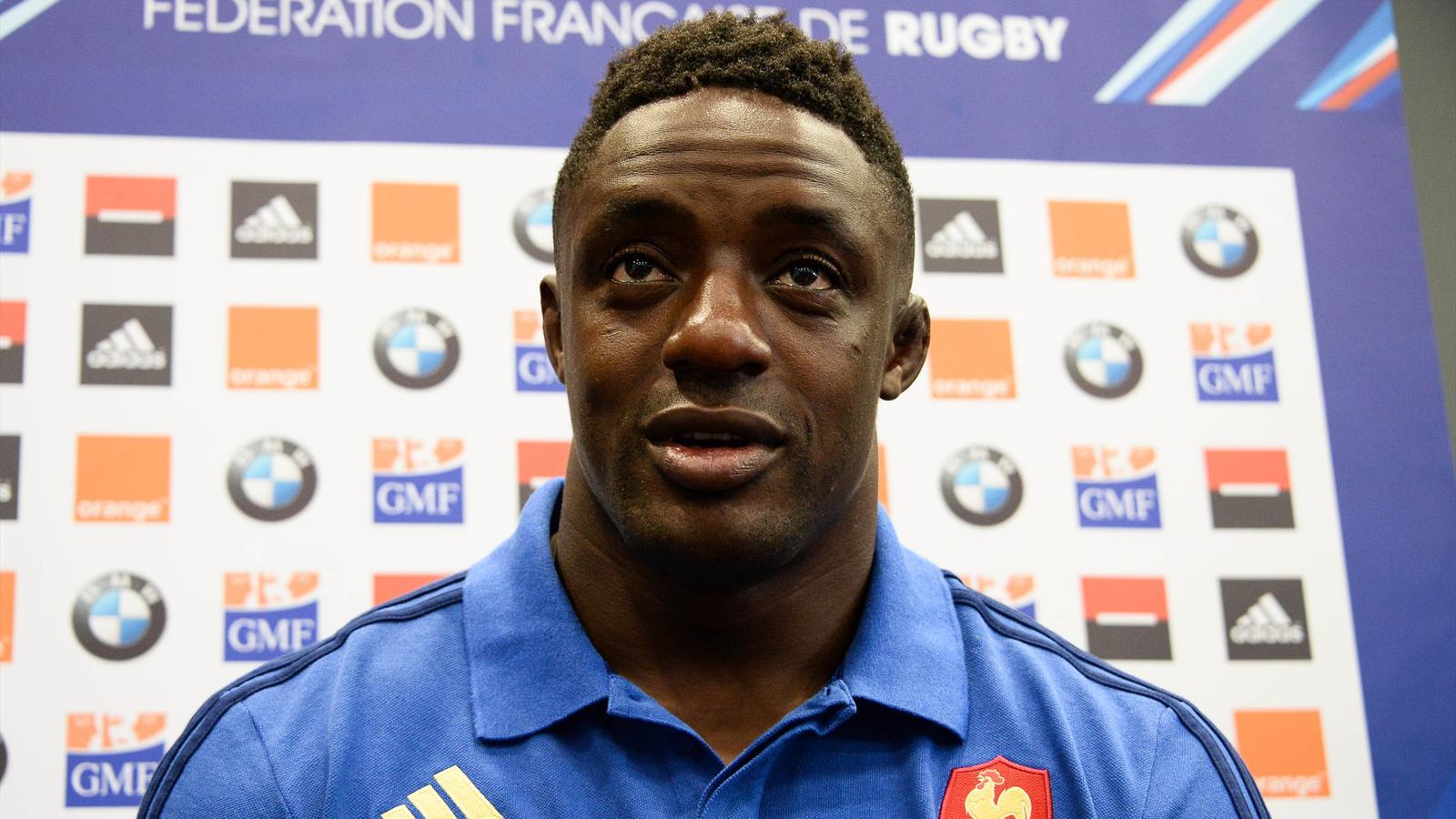 Yannick Nyanga (XV de France) le 4 août 2015